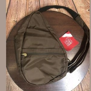 AmeriBag Healthy Back Bag Micro-Fiber Small Brown